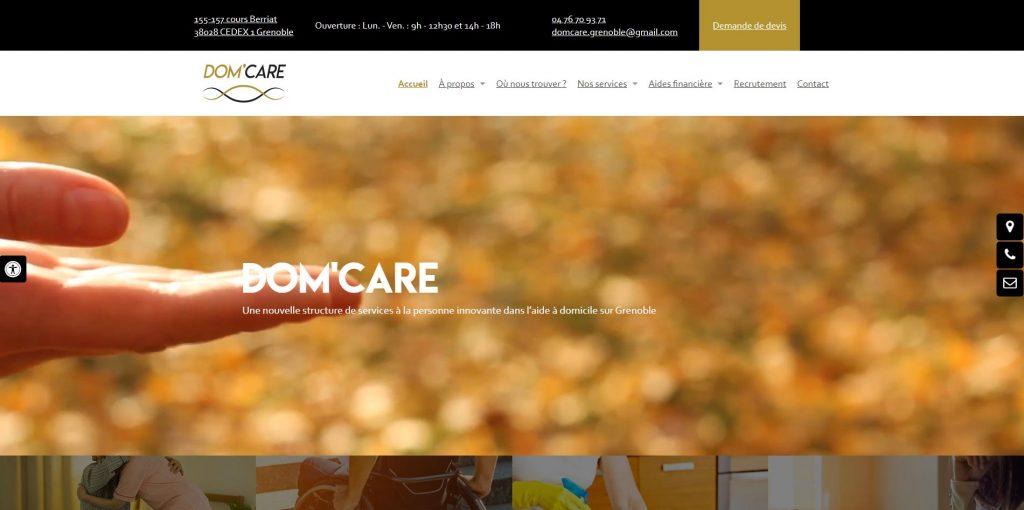 DOM'CARE, agence de service à la personne Grenoble